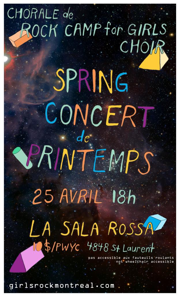 RC4G Choir Spring Concert 2015